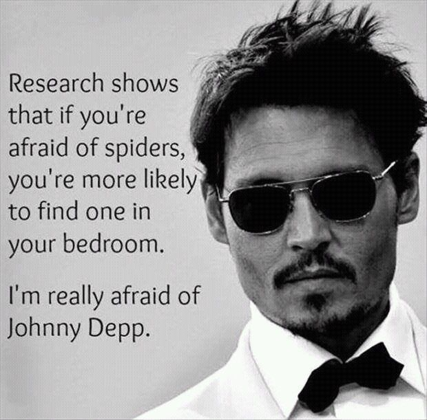 Be afraid, Johnny Depp, mcm