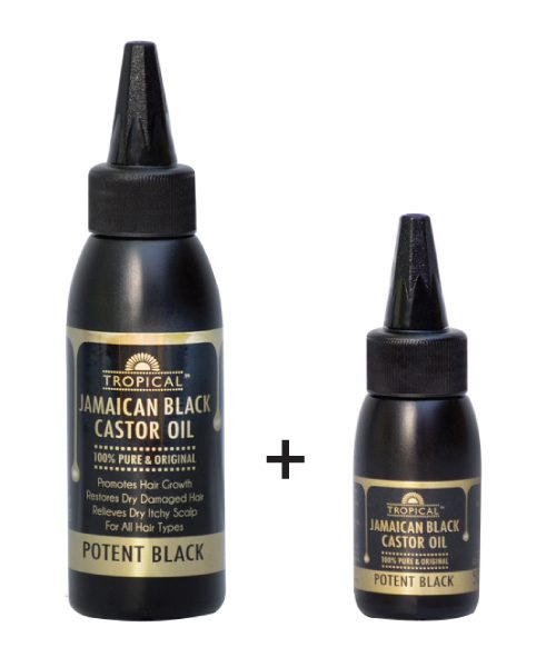 Tropical Jamaican Black Castor Oil